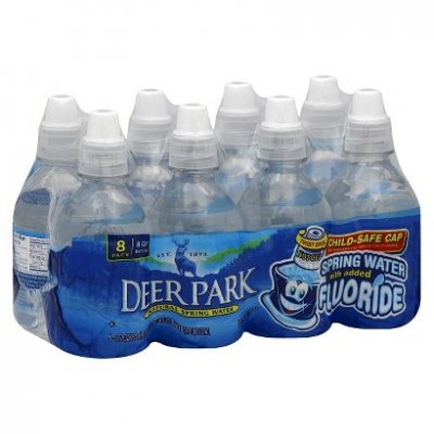 Water, Natural Spring, with Added Fluoride