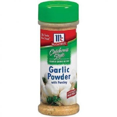 California Style, Garlic Powder with Parsley