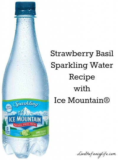 Sparkling Water, Mountain Spring, Lime Essence