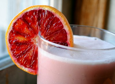 Unsweet Blood Orange Water