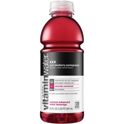 Sparkling Acai Blueberry, Pomegranate, Natural Spring Water