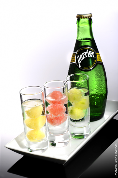 Sparkling Mineral Water, Natural Lemon Flavor, Bonus