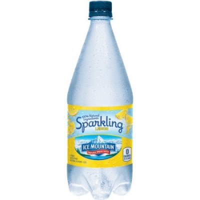 Sparkling Natural Spring Water, Lemon Essence