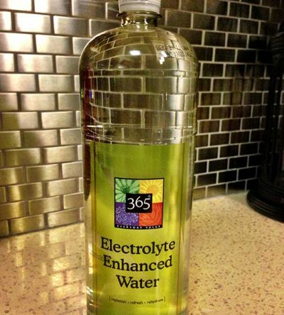 Electrolyte Enhanced Water
