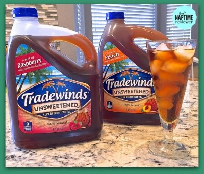 Unsweetened Slow Brewed Iced Tea, A Hint Of Peach