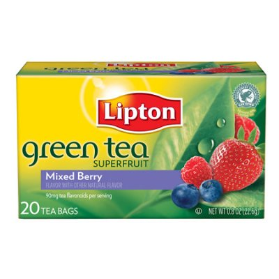 Green Tea, Mixed Berry