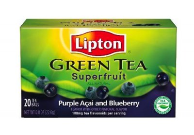 Green Tea, Superfruit, Purple Acai and Blueberry