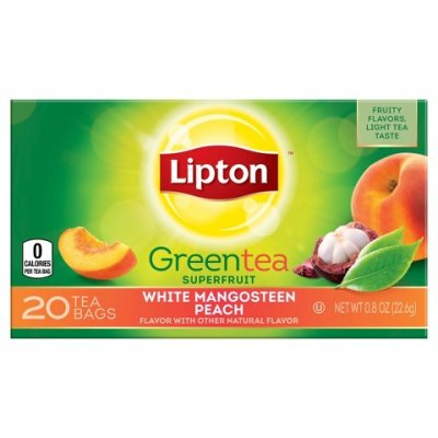 Green Tea, Superfruit, White Mangosteen and Peach