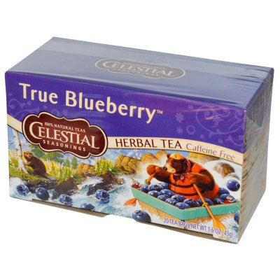 Herbal Tea, Blueberry, Caffeine Free