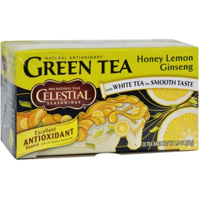 Tea, Green, Honey Lemon Ginseng