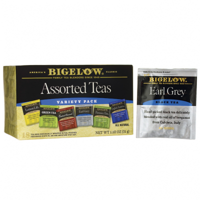 Teas, Six Assorted, Variety Pack