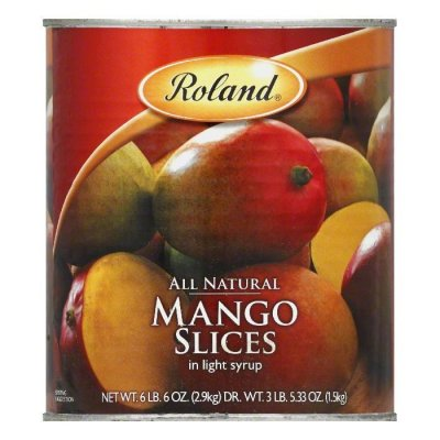 All Natural Mango Slices