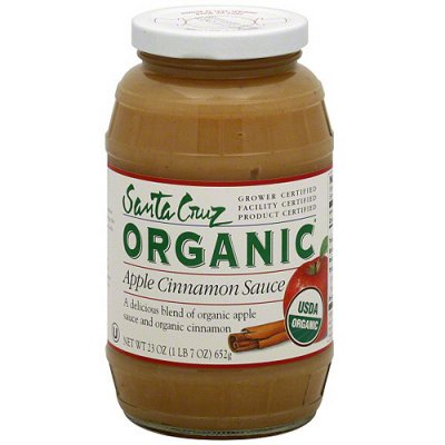 Organic Apple Sauce, Cinnamon