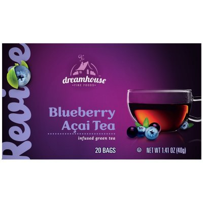 Acai, Pomegranate & Blueberry Green Tea