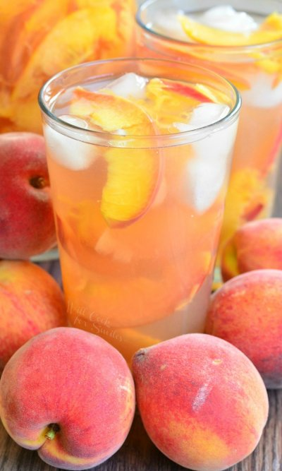 Ginger Peach Tea