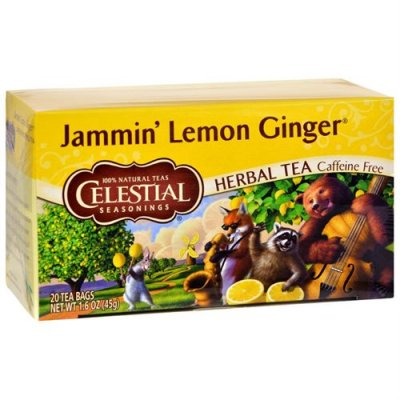 Jammin Lemon Ginger Herbal Tea