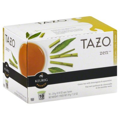 K-Cups, Green Tea Blend, Zen