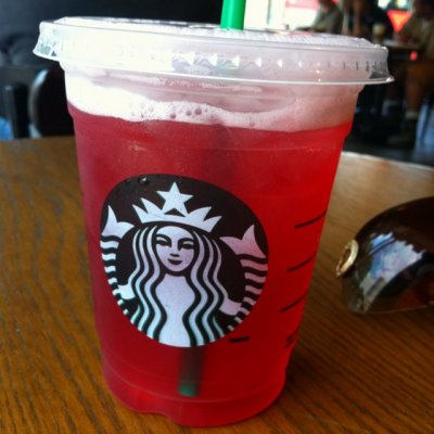 Passion Herbal Infusion Iced Tea