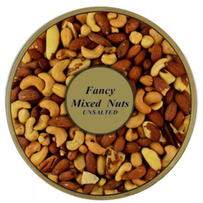 Raw Mixed Nuts, Unsalted