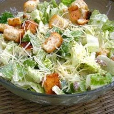 Caesar w/ Parmesan Cheese Salad