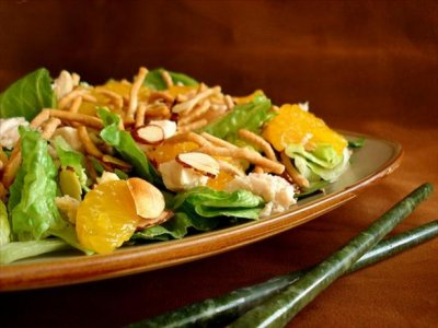 Add Chicken to Large Salad (4 Servings)