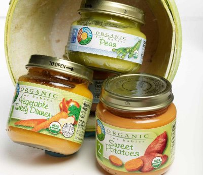 Baby Food, Organic, Pear & Mango, Stage 1 and Beyond