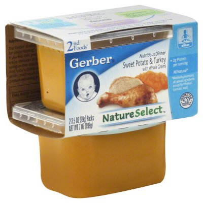 Dinner, Natureselect Sweet Potato & Turkey Nutritious Dinner 3.5 Oz.