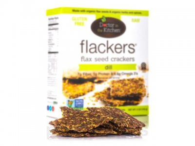 Flackers, Dill Flax Seed Crackers