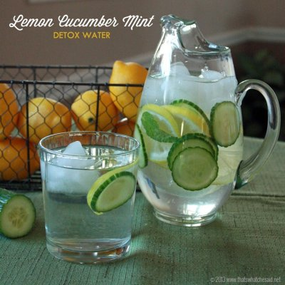 Natural Cucumber Lemon Flavor Purified Water