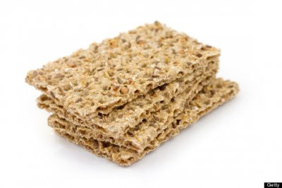 Baked Woven Wheats Whole Wheat Crackers