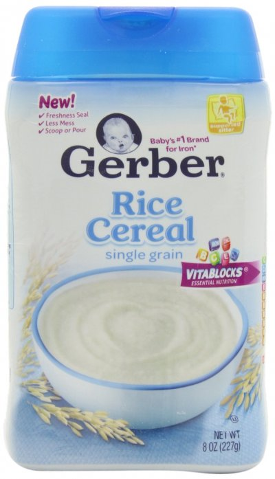 DHA & Probiotic Rice Cereal