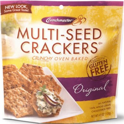 Multi-Grain Crackers, Crunchy Oven Baked