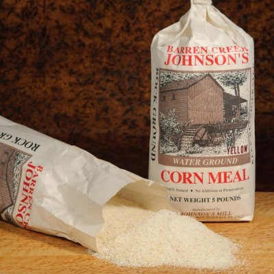 Old Fashioned Stone Ground White Corn Meal