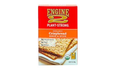 Organic Crispbread Seeds And Spice
