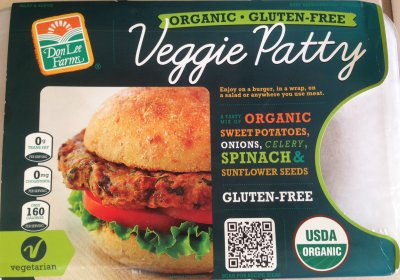 Organic Veggie Patty