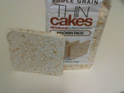 Thin Cakes, Puffed Crackers, Brown Rice, Whole Grain
