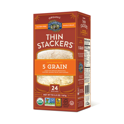 Thin Stackers, 5 Grain Cakes