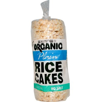 Natural Rice Cakes, Plain