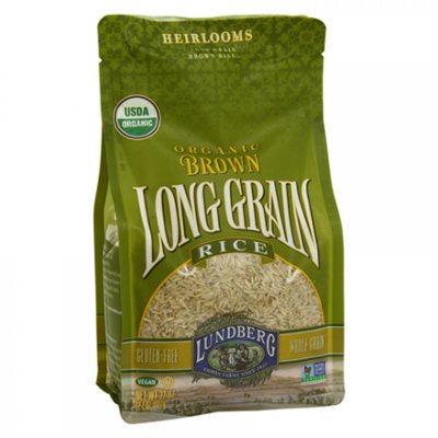 Organic Rices, Long Grain Brown Rice