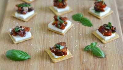Triscuit, Balsamic Vinegar And Basil, Crackers