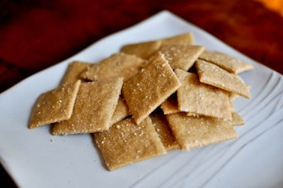 Wheat Crackers, Baked Whole Grain Minis