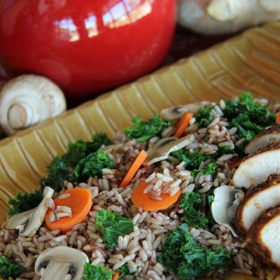 Organic Sprouted Rice Medley