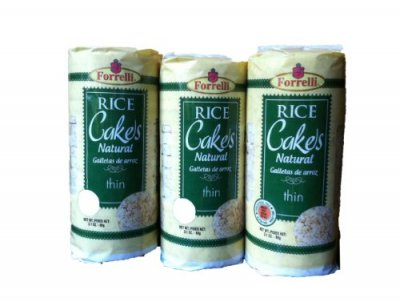 Thin Cakes, Puffed Multigrain Crackers