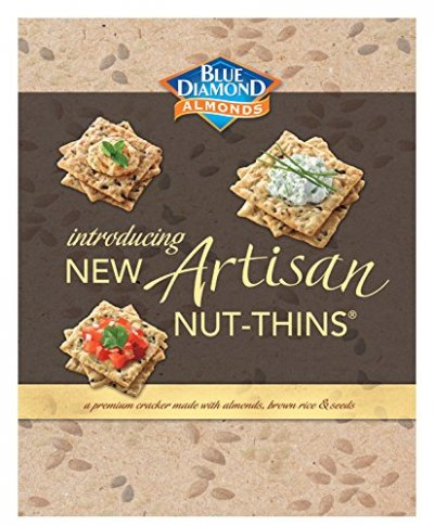 Artisan Nut Thins Crackers , Chia Seeds