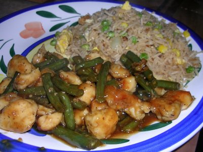 Healthy Cuisine, Roasted Chicken And Rice Medley