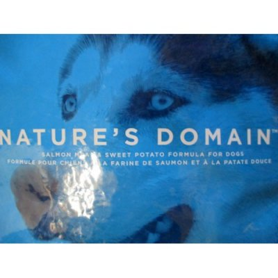 Nature's Domain, Salmon Meal And Sweet Potato Formula For Dogs