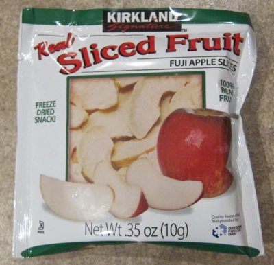 Freeze Dried Fuji Apples Fruit Crisps