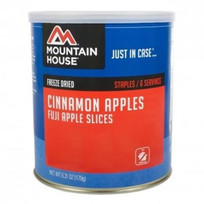 Freeze Dried Sliced Fuji Apples with 100% Pure Cinnamon