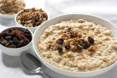 Healthy Gourmet Oatmeal Bites With Dried Fruits