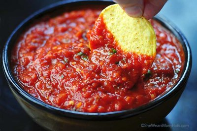 Chipotle Salsa, Medium